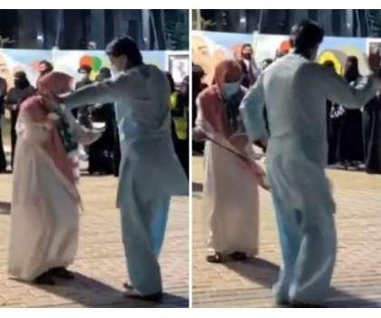 سعودی عرب کے قومی دن پر پاکستانی کے ڈانس کی ویڈیو وائرل