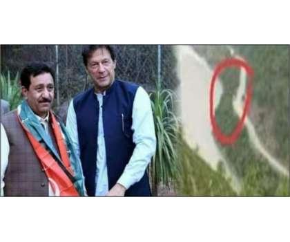 پی ٹی آئی رہنما  صغیر چغتائی کی گاڑی کو حادثہ ، بیٹے نے والد کی موت کو ..