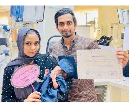 دبئی ؛ وینٹی لیٹر پر موجود کورونا کا شکار خاتون نے معجزانہ طور پر بچی کو جنم دے دیا
