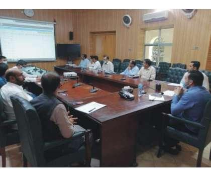 ڈسٹرکٹ ایمرجنسی ریسپانس کمیٹی برائے انسداد ڈینگی کے حوالے سے اجلاس منعقد