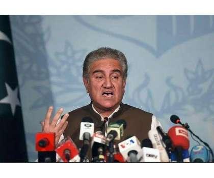 'اپوزیشن کی حکومت پر نکتہ چینی کی بھی کوئی حد ہوتی ہے' شاہ محمود قریشی ..