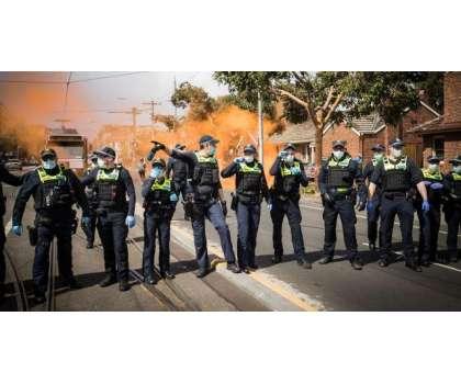 آسٹریلیا، پولیس اور مظاہرین میں تصادم ،267مظاہرین گرفتار