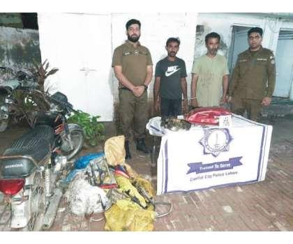 ڈی آئی جی آپریشنز کیپٹن(ر)سہیل چودھری کی ہدایت پر موٹر سائیکل چور اور ..