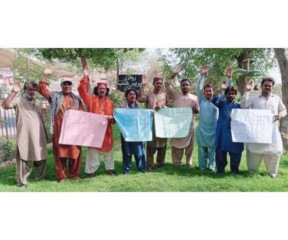 شمن میرالی کے بھانجے کے قتل کے خلاف روہڑی میں گلوکاروں کا احتجاجی مظاہرہ