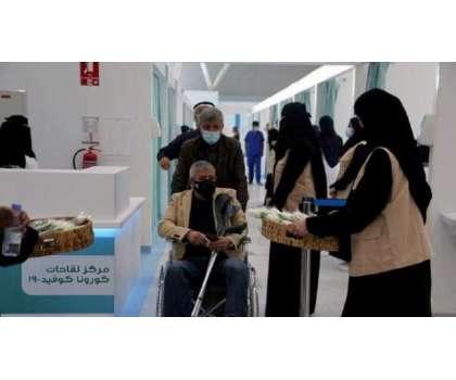 سعودی عرب نے بھی کورونا ویکسین کی بوسٹر ڈوز لگانے کا اعلان کردیا