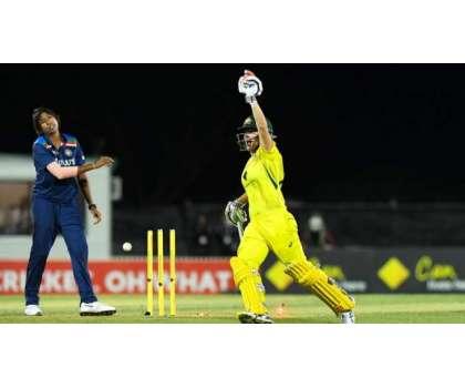 آسٹریلیا اور بھارت کی خواتین ٹیموں کے درمیان تیسرا ون ڈے میچ (کل)کھیلا جائے گا