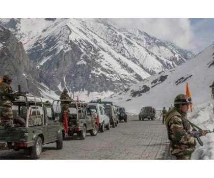 بھارت لداخ میں علاقوں پر قبضے کی کوششوں سے باز رہے ورنہ کارروائی کا ..