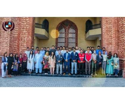 ڈیزاسٹر ریسک مینجمنٹ سوسائٹی گورنمنٹ کالج یونیورسٹی لاہور کے زیر اہتمام ..