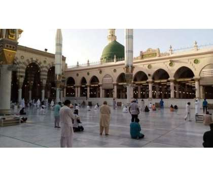 مسجد نبوی میں نمازوں کی ادائیگی سے متعلق وضاحت جاری