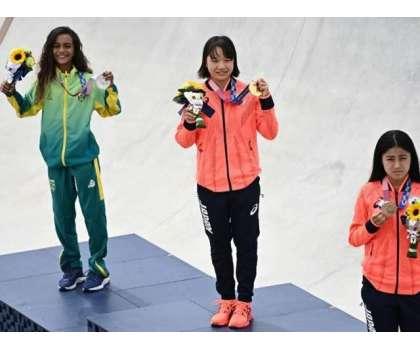 ٹوکیو اولمپکس، میڈل تقریب میں 30 سیکنڈز تک ماسک اتارنے کی اجازت دے دی ..