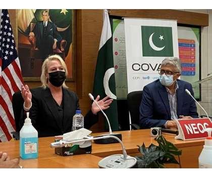 امریکہ کی جانب سے پاکستان کو موڈرنا ویکسین کی تیس لاکھ اضافی خوراکوں کا عطیہ