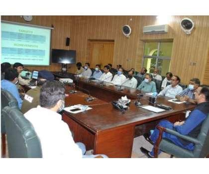 ڈپٹی کمشنر راؤ پرویز اختر کی زیر صدارت مون سون شجر کاری مہم کے حوالے ..