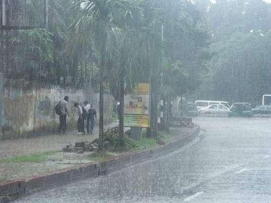 محکمہ موسمیات کی اسلام آباد، ، لاپور اور فیصل آباد سمیت ملک کے بیشتر ..