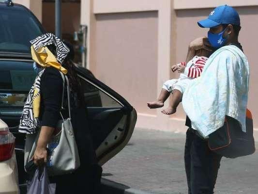 متحدہ عرب امارات میں قیامت کی گرمی، لوگ بے حال ہو گئے
