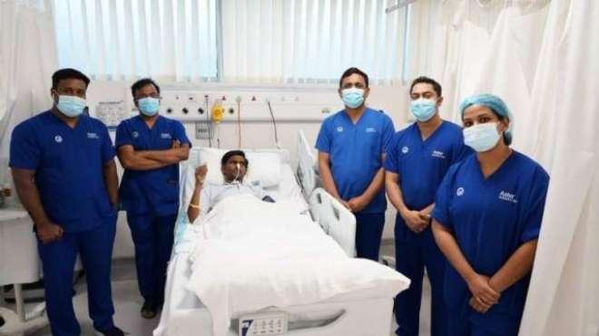 دُبئی میں بھارتی مسیحا کے دن رات علاج نے قریب المرگ پاکستانی کو نئی ..