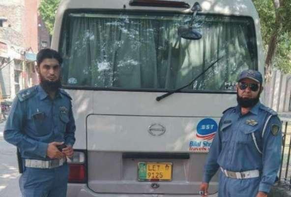 سٹی ٹریفک پولیس نے 47 مرتبہ ٹریفک قوانین کی خلاف ورزی کرنے والی گاڑی ..