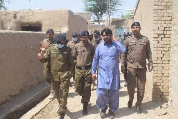 ڈی پی او عمر سعید ملک کا محرم الحرام کے سلسلہ میں سرکل تونسہ کے جلوس ..