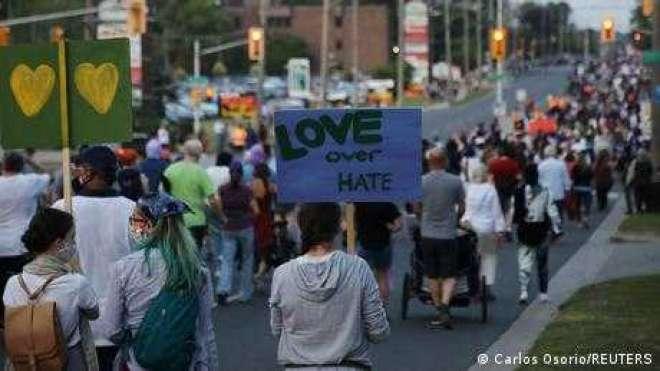 کینیڈا: مسلم خاندان کے مشتبہ قاتل کے خلاف دہشت گردی کا مقدمہ