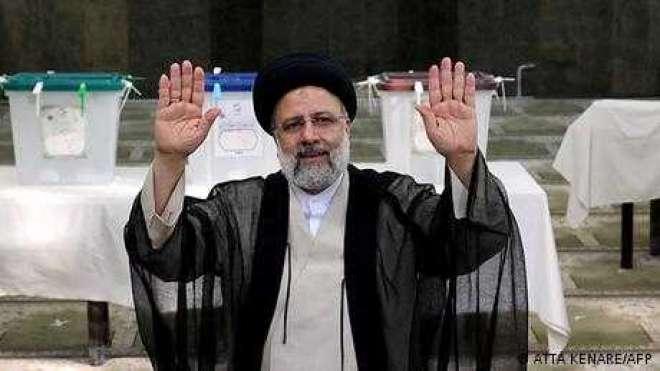 ایران میں سخت گیر ابراہیم رئیسی صدر منتخب