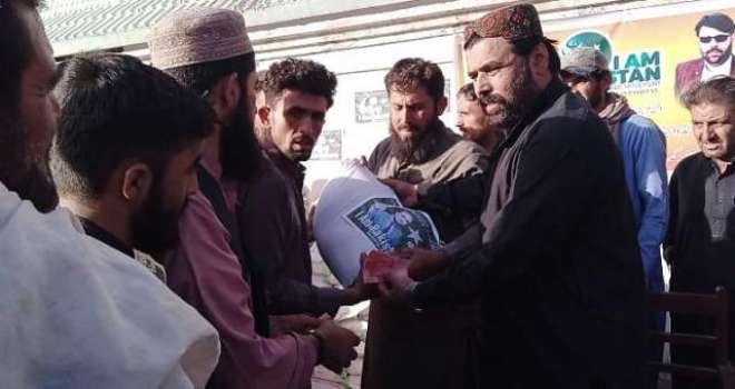 آئی ایم پاکستان ولڈ وائیڈ مومنٹ کے زیر اہتمام 65 روپے کلو والا فائن آٹا ..