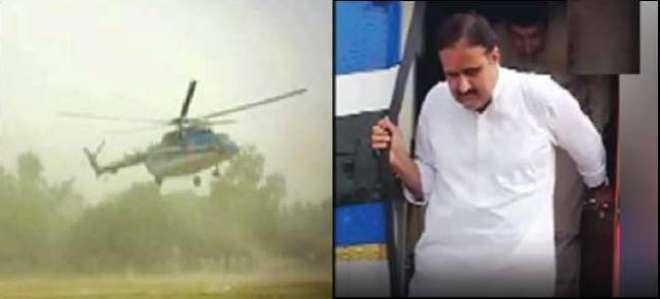 وزیراعلیٰ پنجاب حادثے سے بال بال بچ گئے