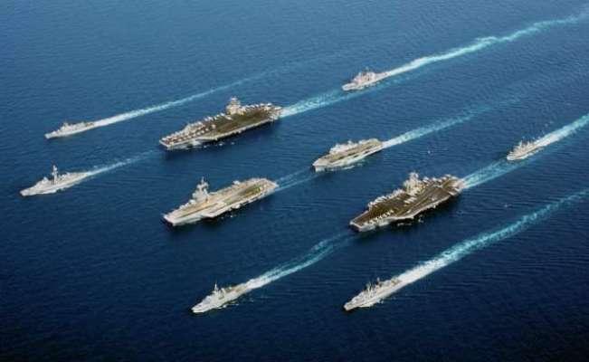 امریکا، چین کے درمیان انڈوپیسیفک سمندر میں دنیا کی پہلی 'نئی سرد جنگ' ..