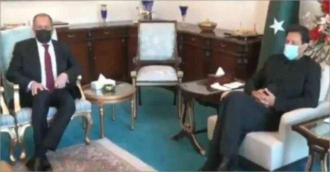 وزیراعظم عمران خان کی روس  کے صدر ولادیمیر  پیوٹن کو دورہ پاکستان کی ..
