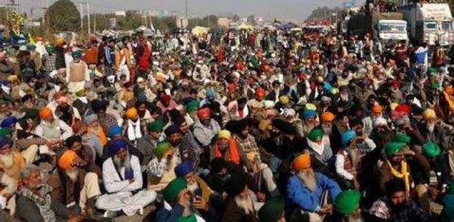 بھارت :204دنوں کے دوران 500سے زائدکسانوں کی جانیں چلی گئیں