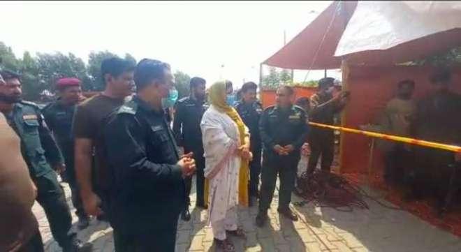 نارووال ریجنل ایمرجنسی آفیسر ریسکیو 1122 گوجرانوالہ سید کمال عابد کی ..