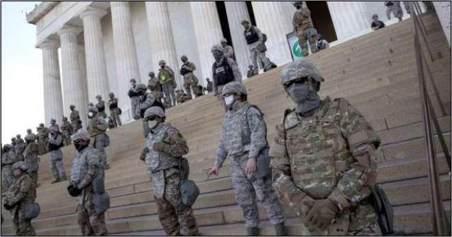 امریکہ کی فوجی قیادت کا اہلکاروں کو سیاسی ہنگاموں سے متعلق انتباہ