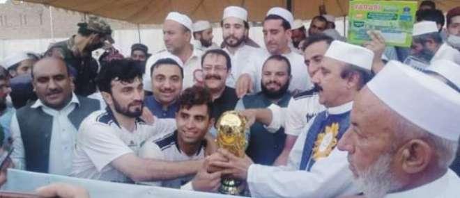 جشن آزادی فٹبال ٹورنامنت شنواری ستوری فٹبال کلب نے جیت لی