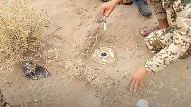 یمن سے بارودی سرنگ پانی کے بہا ئوکے باعث سعودی عرب پہنچ گئی