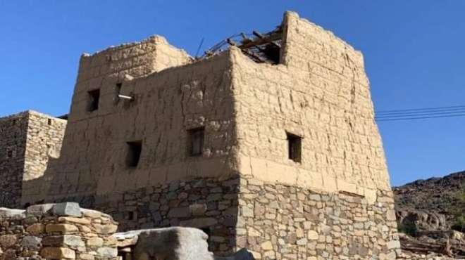 سعودیہ میں پتھروں سے بنے قدیم گھروں کا دُنیا بھر میں چرچا ہو گیا