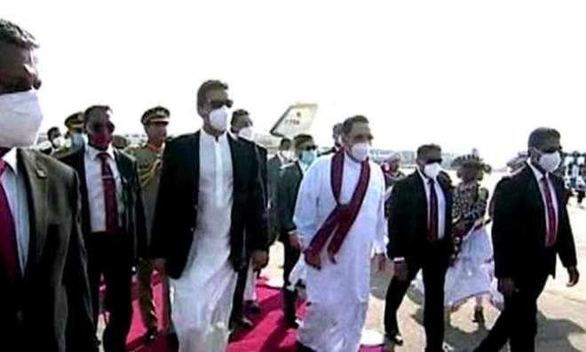 وزیراعظم عمران خان سری لنکا کے 2روزہ دورے پر کولمبو پہنچ گئے