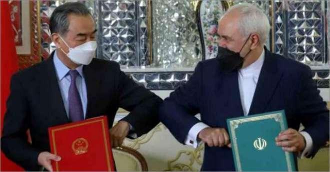 امریکا ایران پر عائد غیر قانونی پابندیاں ختم کرے،چین نے خبردار کر دیا