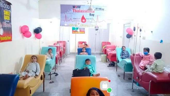 آج پاکستان سمیت دنیا بھر میں خون کی بیماری تھلسیمیا کے خلاف آگاہی کا ..
