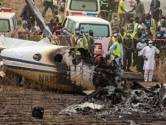 میکسیکومیں فوجی طیارہ گر کر تباہ، چھ اہلکار ہلاک