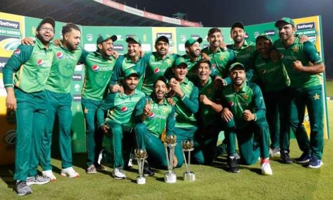 پاکستان نے تاریخ رقم کر دی، جنوبی افریقہ میں دوسری مرتبہ سیریز جیتنے ..
