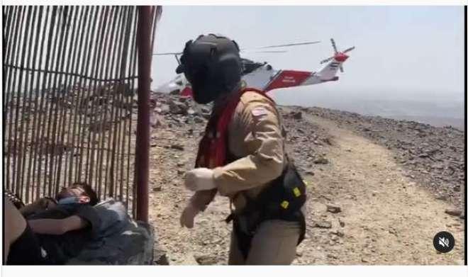 اماراتی پہاڑیوں پر تفریح کی خاطرگئے پاکستانی نوجوان کی حالت خراب ہو ..