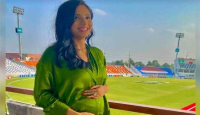 پاکستانی خاتون سپورٹس اینکر زینب عباس کے ہاں ننھے مہمان کی آمد متوقع