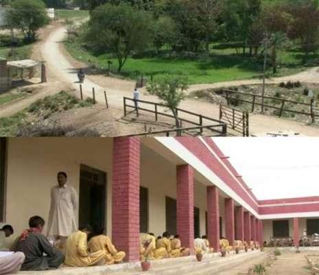 پنجاب کے پسماندہ ترین ریجن میں واقع گاؤں پورے ملک کیلئے مثالی علاقہ ..
