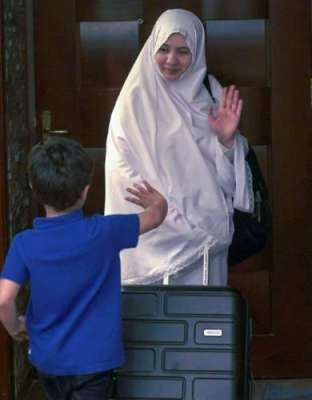 تاریخ میں پہلی بار پاکستانی خاتون نے بغیر محرم کے جج ادا کیا