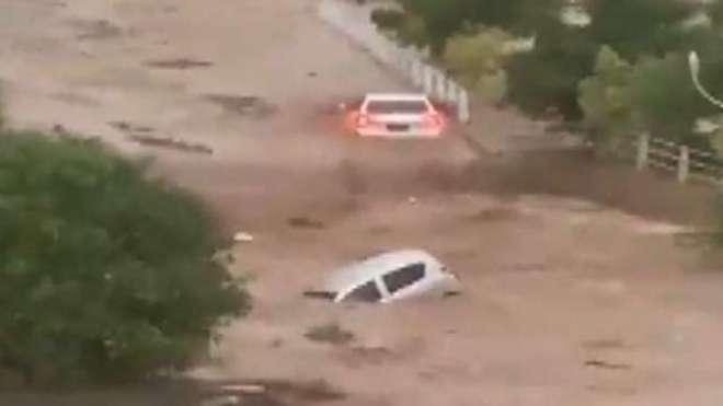 اسلام آباد کے کورنگ اور سوہان دریائوں میں بارشوں کے باعث طغیانی کا ..