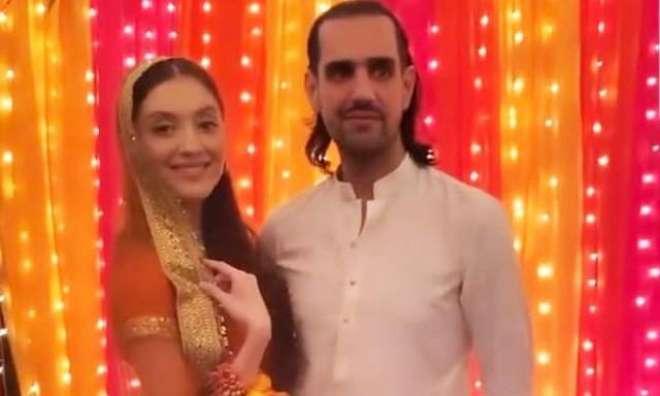 سلمان تاثیر کے صاحبزادے شہباز تاثیر اور ماڈل نیہا راجپوت کا نکاح ہوگیا
