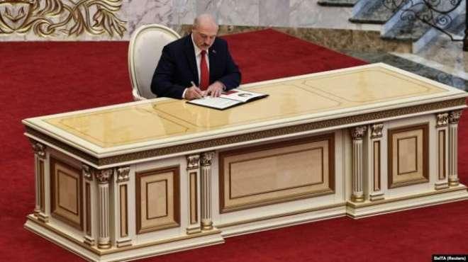 بیلاروس کے صدر لوکاشینکو کو اپنے قتل کا خدشہ، حکم نامے پر دستخط کر دئیے