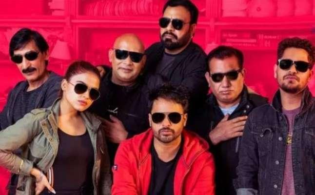 پاکستانی کامیڈین لندن میں بننے والی بھارتی پنجابی فلم ''چل میرا پُت'' ..