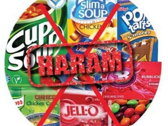 Haram Foods