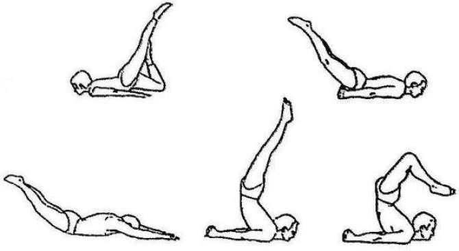 Salabhasana Yoga Warzish