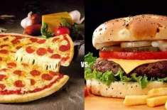 Pizza Burger Ab Sehat K Sath