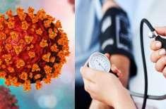 Coronavirus Aur High Blood Pressure